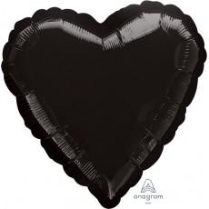 Black Standard HX Shaped Balloon