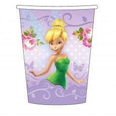 Disney Fairies Silver Tinker Bell, Silvermist & Rosetta Paper Cups