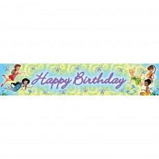 Disney Fairies Plastic Banner