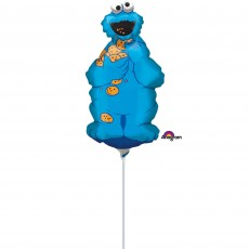 Sesame Street Cookie Monster Mini Shaped Balloon