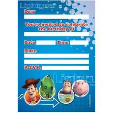 Toy Story 3 Invitations