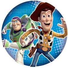 Toy Story 3 Buzz LightYear & Woody Lunch Plates