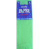 Green Party Supplies - Crepe Paper Folds Festive Green