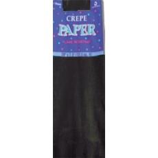 Black Crepe Paper Folds Misc Accessorie
