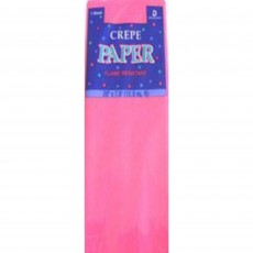 Pink Hot Crepe Paper Folds Misc Accessorie
