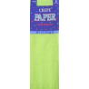 Green Party Supplies - Crepe Paper Folds Apple Green