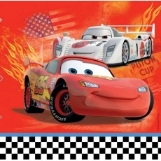 Disney Cars 2 Lunch Napkins