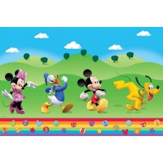Mickey Mouse Clubhouse Plastic Table Cover