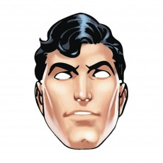 Superman Party Supplies - Paper Mask