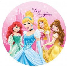 Disney Princess Sparkle Dinner Plates