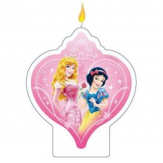 Disney Princess Sparkle Flat Candle