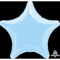 Blue Metallic Pearl Pastel Standard XL Shaped Balloon