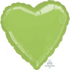 Green Metallic Lime Standard HX Shaped Balloon