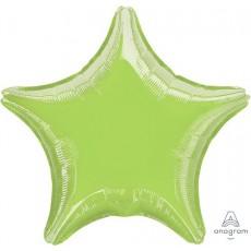 Green Metallic Lime Standard XL Shaped Balloon