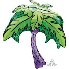 Hawaiian Luau SuperShape XL Palm Tree Shaped Balloon