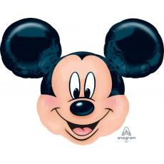 SuperShape XL Mickey Mouse Head Shaped Balloon 69cm x 53cm