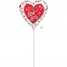 Love Simply Said Shaped Balloon