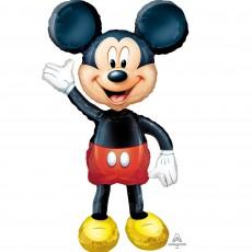 Mickey Mouse Airwalker Foil Balloon 96cm x 132cm