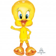 Looney Tunes Yellow Tweety Bird Airwalker Foil Balloon