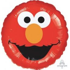 Round Sesame Street Elmo Smiles Standard HX Foil Balloon 45cm