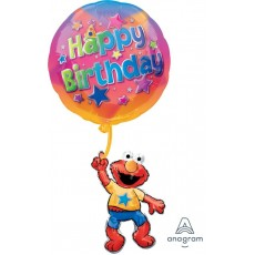 Sesame Street Elmo Floating Birthday SuperShape XL Shaped Balloon