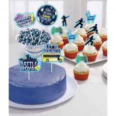 Battle Royal Party Supplies - Cake Toppers