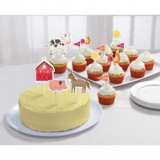 Barnyard Cake Toppers