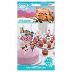 Spirit Riding Free Party Supplies - Cake Toppers