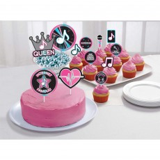 Internet Famous Party Supplies - Cake Toppers