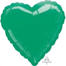 Green Metallic Standard HX Shaped Balloon