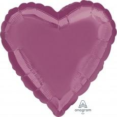 Lavender Metallic Standard HX Shaped Balloon