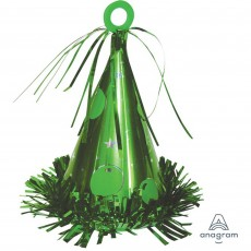 Green Party Hat Balloon Weight