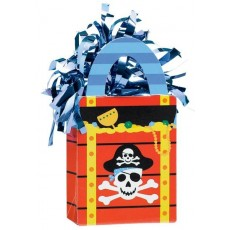 Pirate's Treasure Pirate Party Tote Balloon Weight