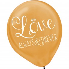 Wedding Assorted Colours  Latex Balloons