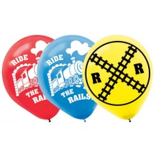 Teardrop Thomas & Friends Trains Latex Balloons 30cm Pack of 6