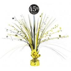 Happy Birthday Sparkling Celebration Add Any Age Spray Centrepiece 45cm