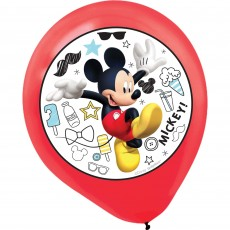 Mickey Mouse On The Go Latex Balloons