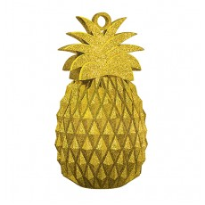 Hawaiian Luau Gold Aloha Pineapple Balloon Weight