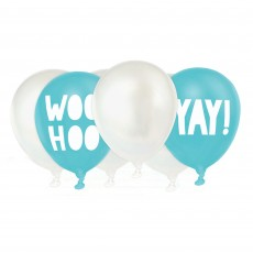 Iridescent Shimmering Party Latex Balloons 30cm Pack of 6