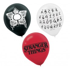Halloween Stranger Things Latex Balloons