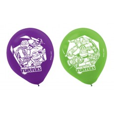 Teenage Mutant Ninja Turtles Latex Balloons