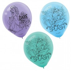 The Little Mermaid Ariel Dream Big Latex Balloons