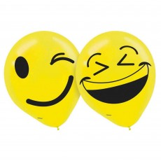Emoji LOL Latex Balloons