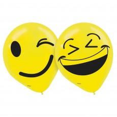 Emoji LOL Smiley Faces Latex Balloons