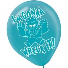Wreck It Ralph Latex Balloons