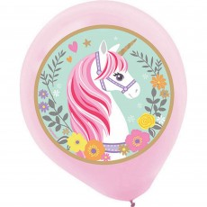 Magical Unicorn Latex Balloons