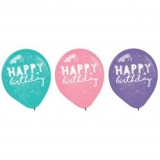 Girl-Chella Party Decorations - Latex Balloons