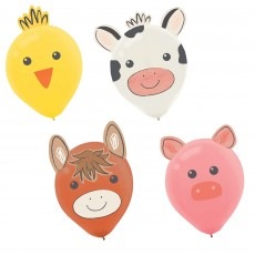 Barnyard Decorating Kit Latex Balloons