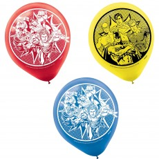 Justice League Party Decorations - Latex Balloons Heroes Unite
