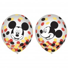 Mickey Mouse Forever & Confetti Latex Balloons